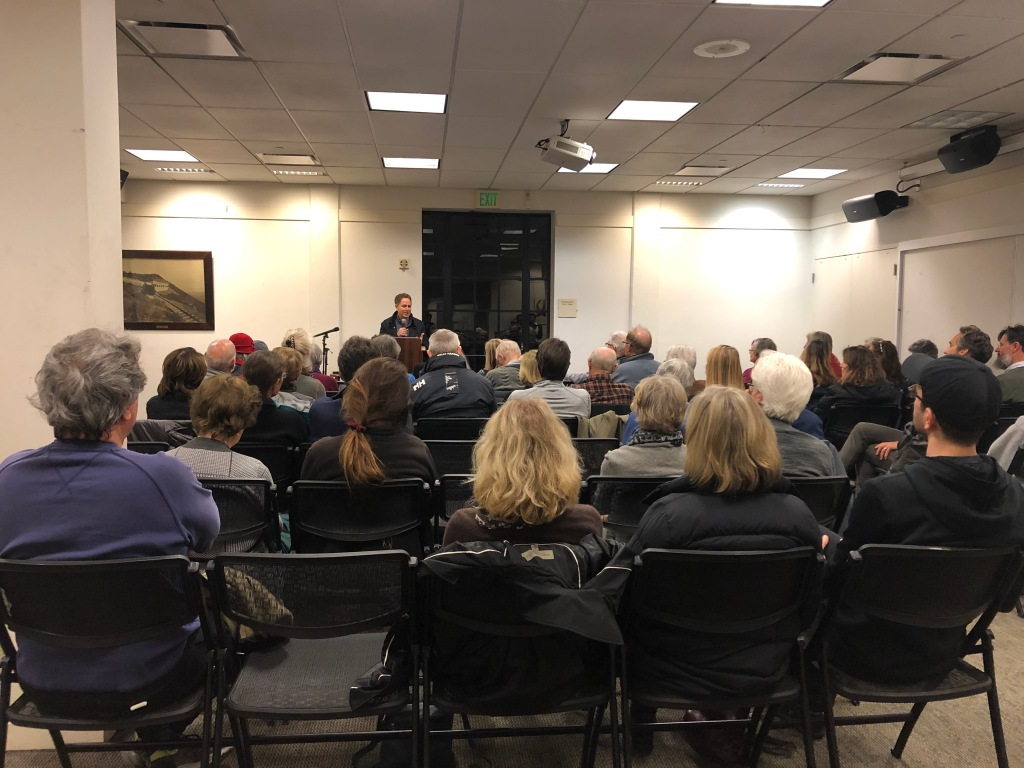 Mark Arax at Mill Valley Public Library 12/4/19